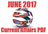 CURRENT AFFAIRS HAND WRITTEN NOTE JUNE-2017