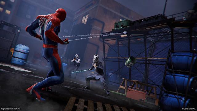 الكشف عن عرض جديد بالفيديو للعبة Spider-Man ، شاهد المقطع من هنا …