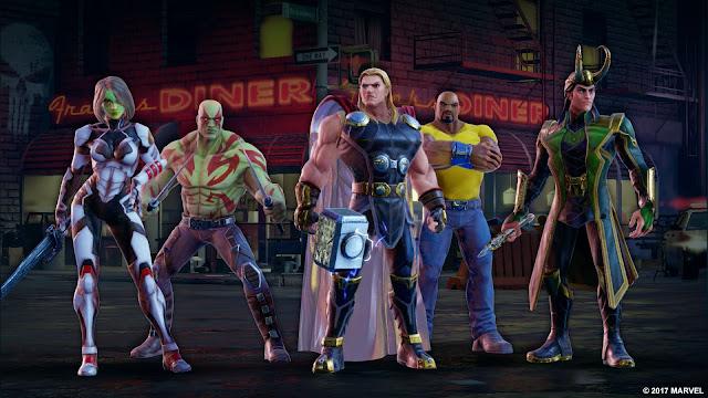 Marvel Strike Force é um RPG mobile que está chegando em 2018