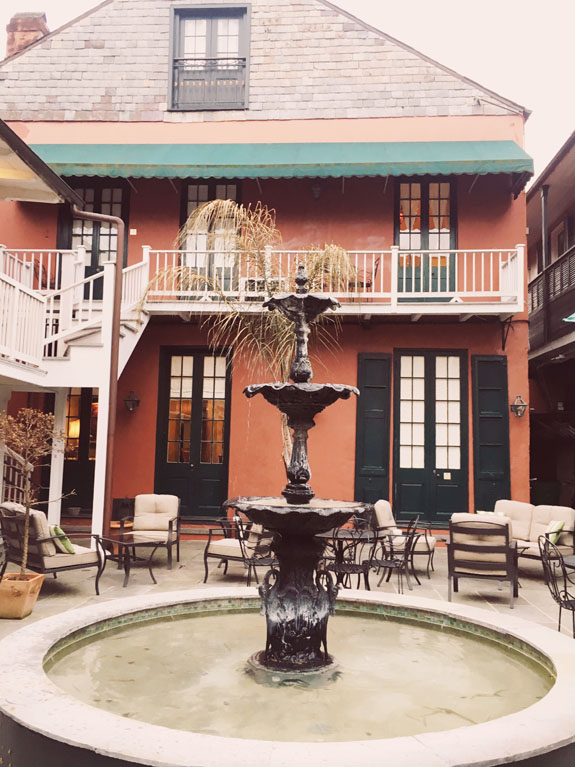 3 days in New Orleans Hotel Maison de Ville