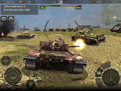 Grand Tanks: Tank Shooter Game Mod v2.63 APK + Data Full
