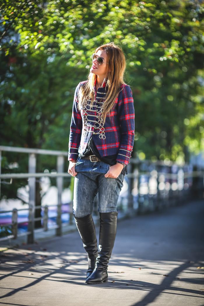 Chaqueta Militar , es cuestión de estilo , street style, , tendencia ,personal shopper ,Lucía Díez