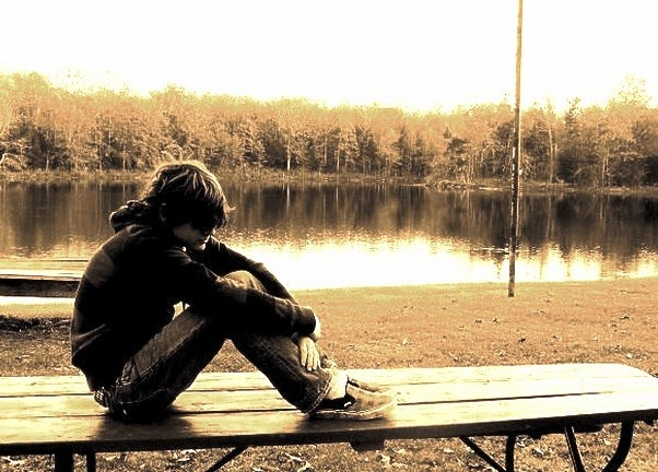 sad boy alone in love images photos