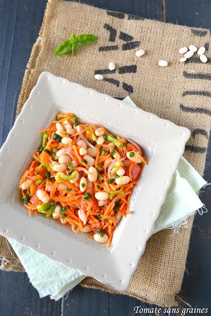 Salade de haricots blancs