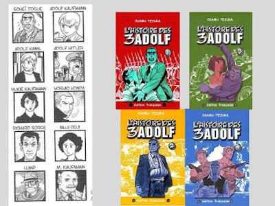 Tezuka, Osamu. L'Histoire des 3 Adolf © Tonkam