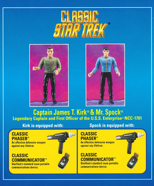 Star Trek Starfleet Officers Collectors Set Playmates