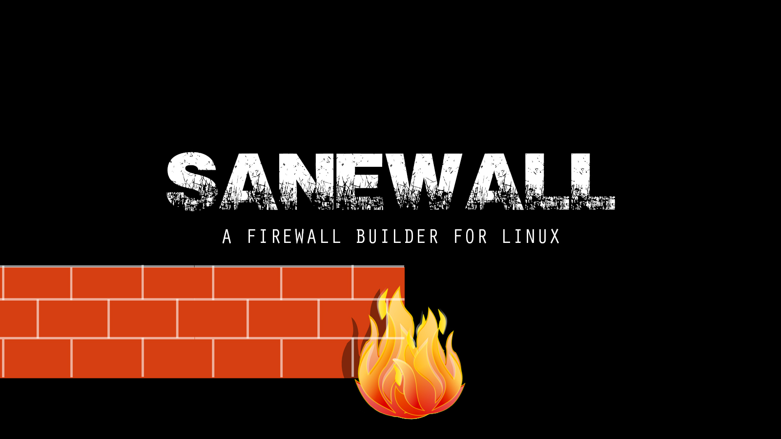 Sanewall - A Firewall Builder For Linux