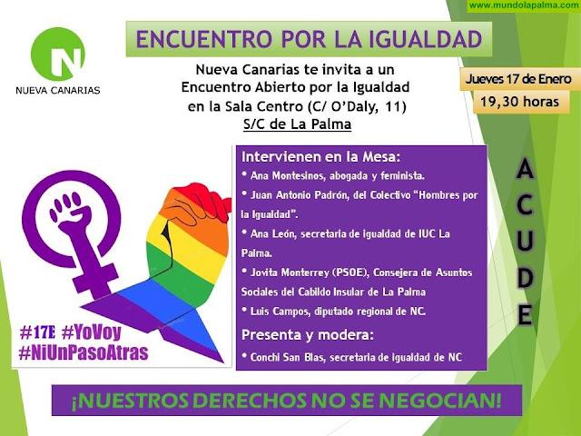 Encuentro Por La Igualdad en Santa Cruz de La Palma