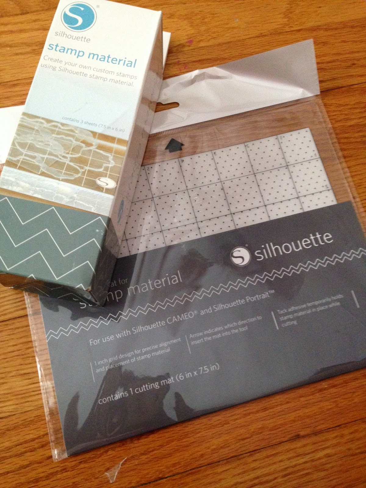 Silhouette, stamp, tutorial, beginners, material, mat