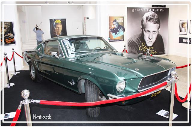replique Ford Mustang Fastback  du film Bullitt