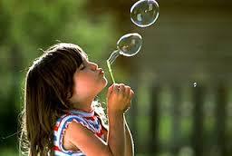 A grande felicidade de uma criança