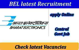 BEL Recruitment 2019