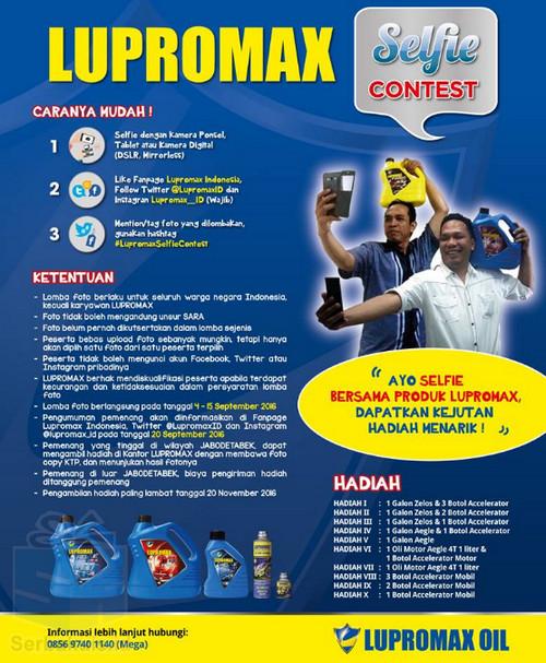 Lupromax Selfie Contest