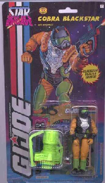 1994 Cobra Blackstar, Star Brigade, MOC, Carded
