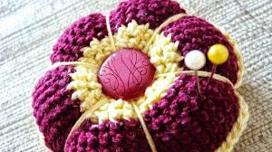 Ideas para el día de la madre: alfileteros al crochet