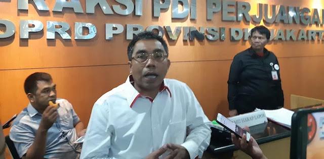 16 Jabatan Diisi Plt, PDIP Desak Anies Rampungkan Proses Lelang Jabatan