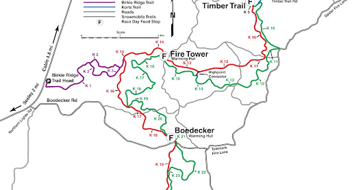 Maps of 5 great Sawyer County day hikes