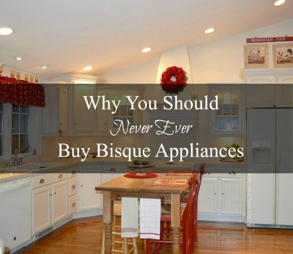 Why You Should Never Buy Bisque Appliances