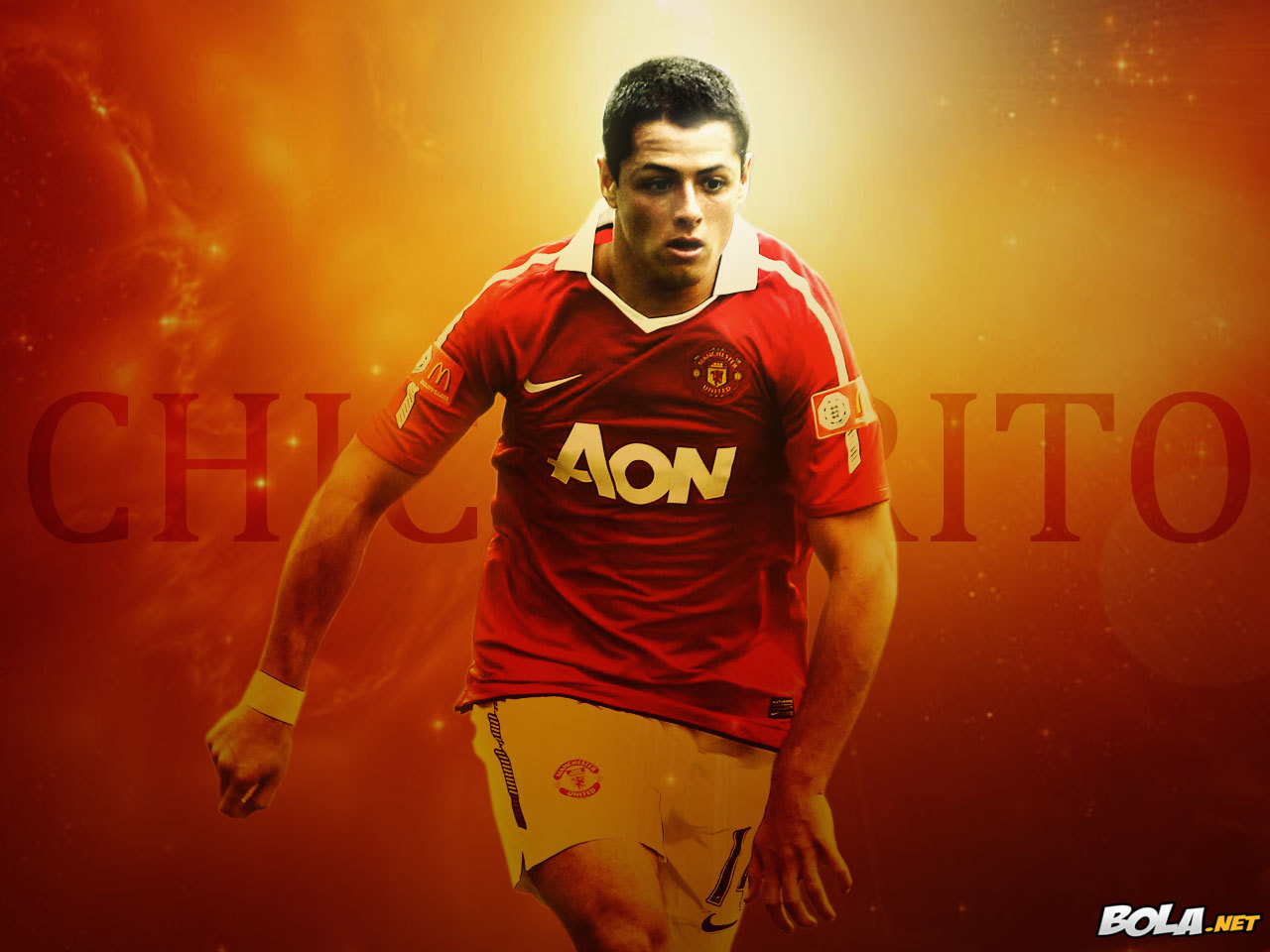 "Wallpaper Free Picture: Javier ""Chicharito"" Hernandez"