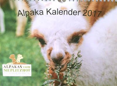 Alpaka Kalender 2017