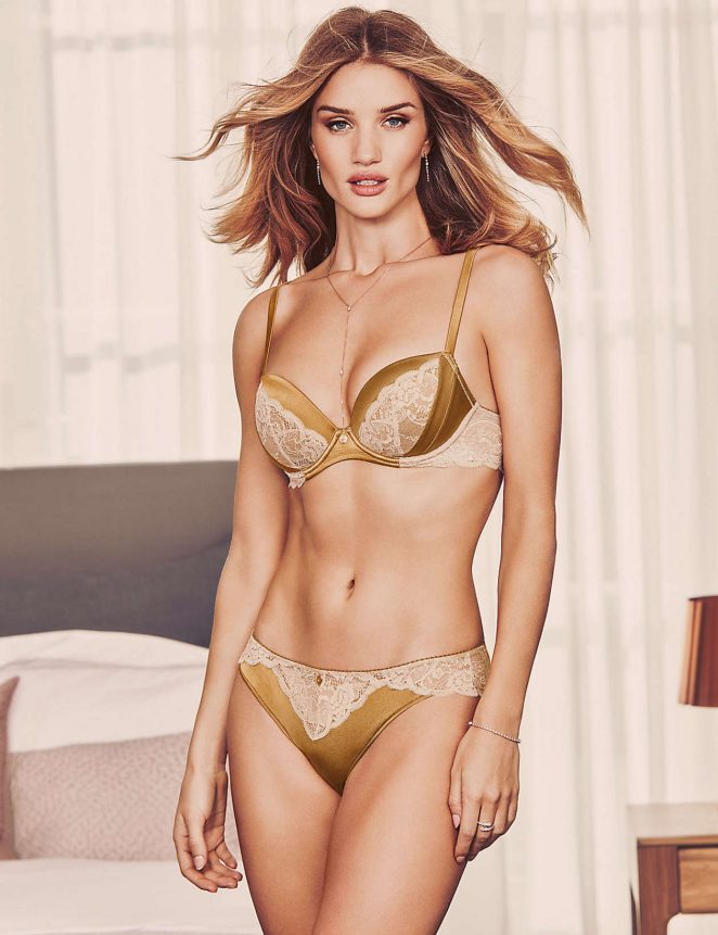 Rosie Huntington Whiteley – Autograph Lingerie 2016