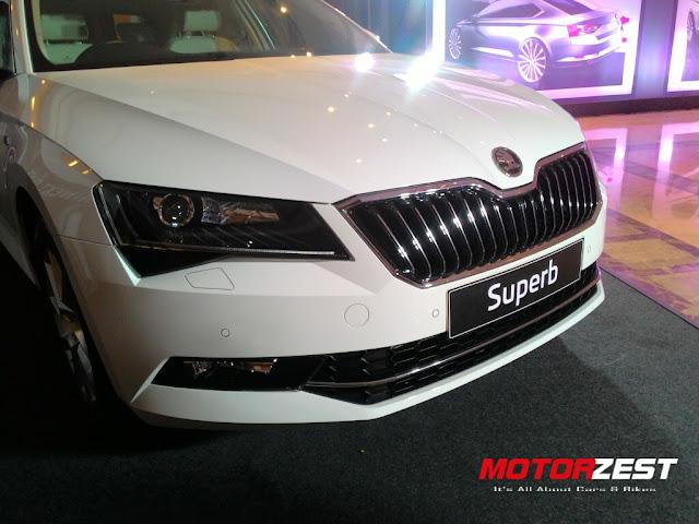 2016 Skoda Superb India Launch