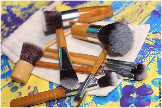 Bon plan pinceaux maquillage - Blog beauté Les Mousquetettes©