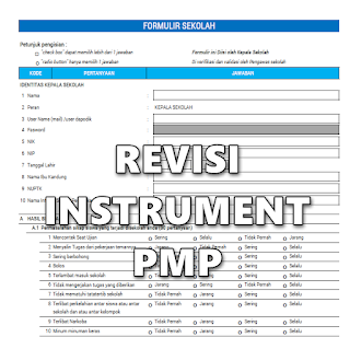 Revisi Instrument PMP