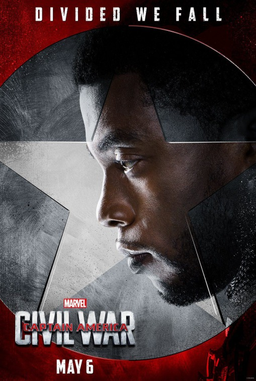 Black Panther Captain America Civil War poster