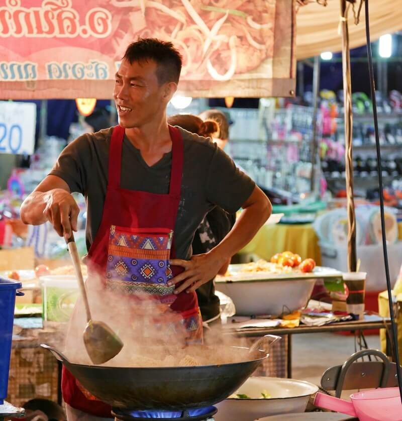 street photography chiang mai night market