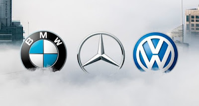 VolksWagen, Daimler Mercedes e BMW
