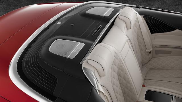 Mercedes Maybach S650 Cabriolet - Delicados acabados en el interior y exterior