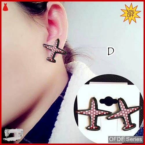 OFDF321 Aksesoris Ear Rings Korean Aeroplane D BMGShop