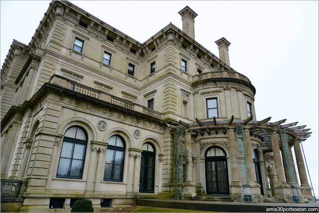 Fachada de The Breakers, Newport