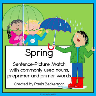 https://www.teacherspayteachers.com/Product/Spring-Sentence-Picture-Match-Reading-Center-KinderFriends-1715248