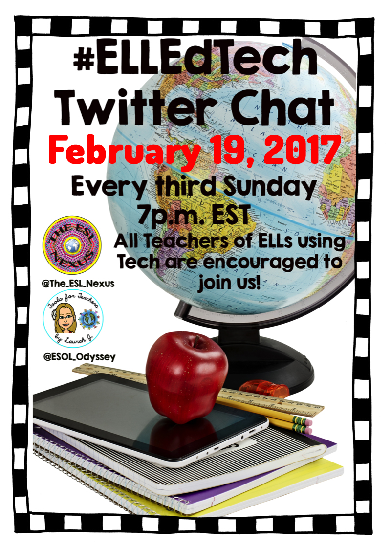 Join the February #ELLEdTech Twitter chat to discuss Tools for Teaching Listening | The ESL Connection