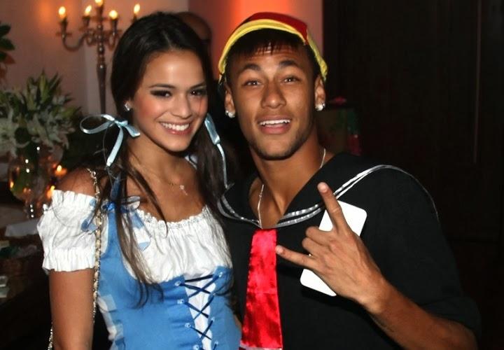 Neymar and Bruna marquezine best desktop backgrounds ...Bruna Marquezine And Neymar