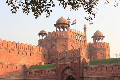 red fort back image hd