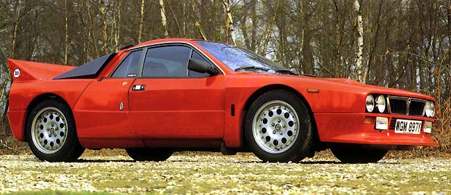 racing cigalo: lancia 037 stradale