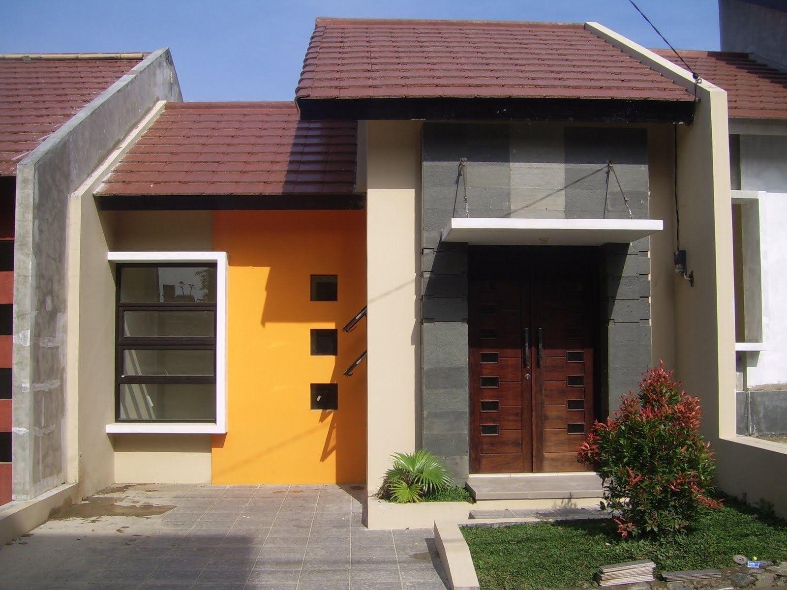 gambar rumah type 45 simpel modern