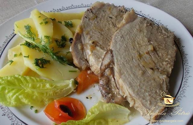 Reteta friptura de porc inabusita, preparat traditional friptura de porc inabusita