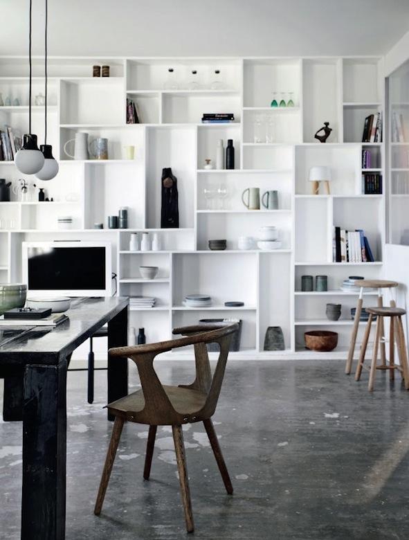 Lunch & Latte: interior design: designer Marie von Lotzbeck\'s home