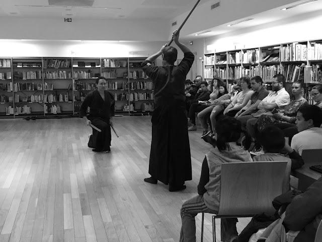 Kata à deux sabres contre un, ryoto