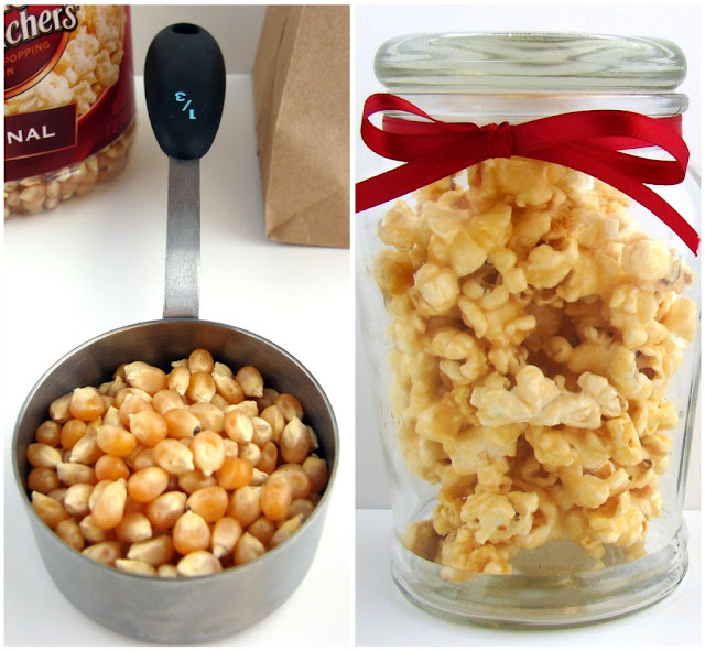 Soft Caramel Popcorn #recipe from @KatrinasKitchen