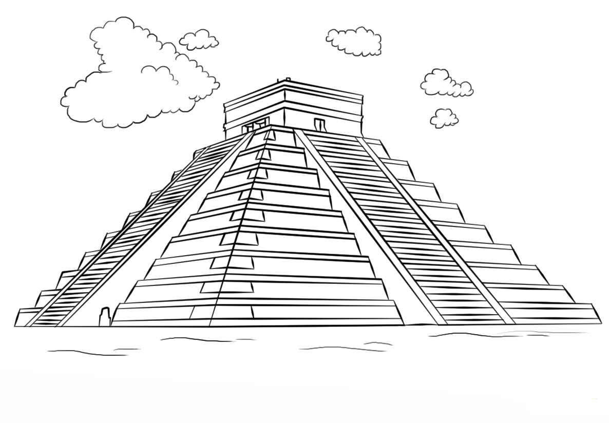 Egyptian Warrior Coloring Page