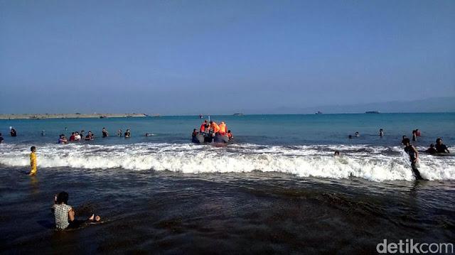 Dua Korban Hilang di Pantai Pantai Palabuhanratu Ditemukan Tewas
