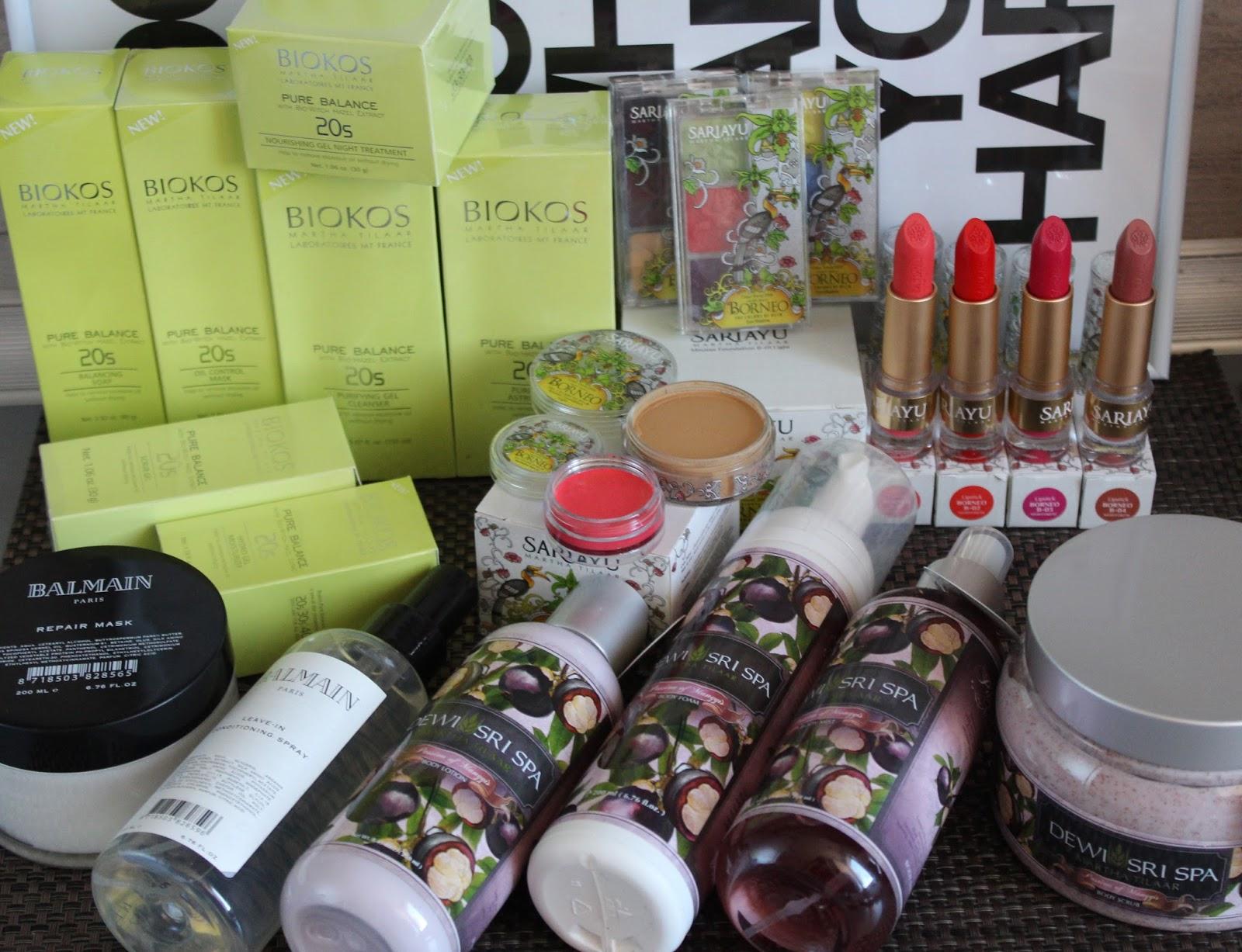 Novi brandovi na našem tržištu - Biokos, Sariayu i Dewi Sri Spa