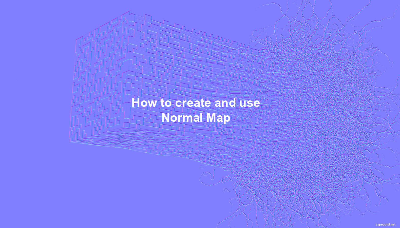 How to create and use Normal Map | CG TUTORIAL