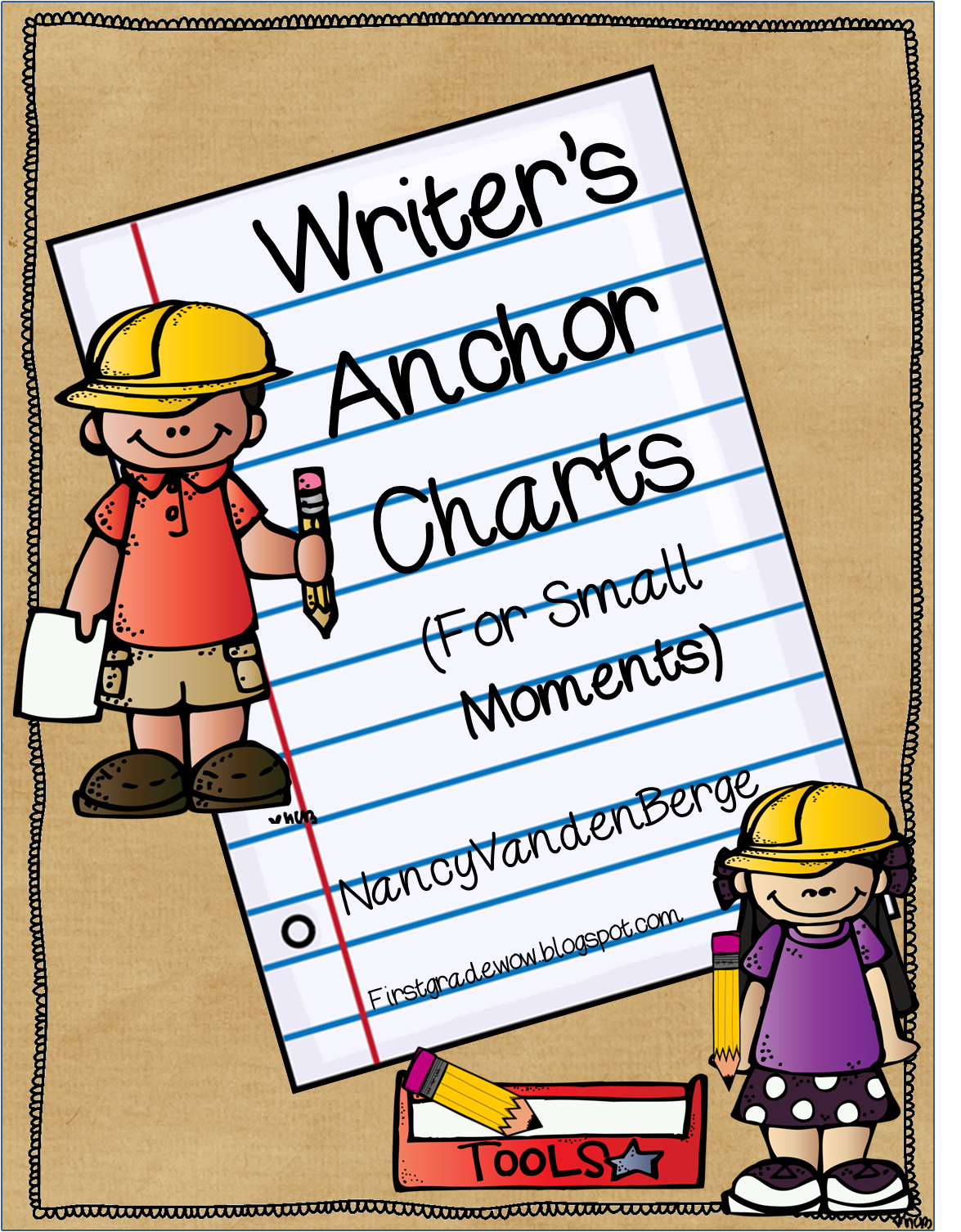 First Grade Wow Writers Workshop Anchor Charts For Small