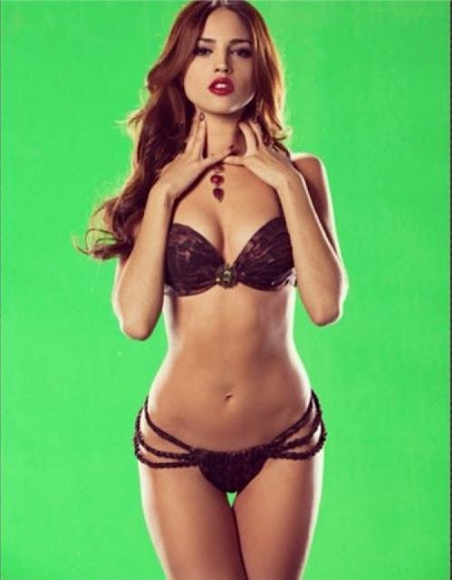 Hot girls Cassandre Davis sexy Fitness model 3